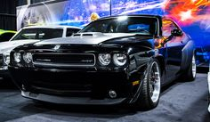 This 2008 Dodge Challenger SRT appeared in Fast Five and Fast and Furious 6! Anyone want to race? #FastCarFriday #racing #autobody