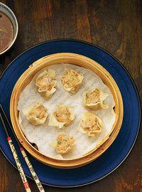 Dumplings au porc et aux crevettes