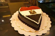 Egypt Cake Flag