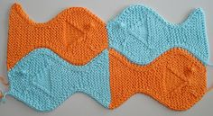 Please note that this is not a typical pattern. It is to be used along with the original Festive Fish pattern by Paula Levy published in the Summer 1998 issue of Knitter's magazine. The chart is included for working two rows of fish side by side.