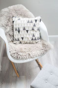 Classic Unisex Nursery in Grey & White With Scandi Influences - Cushions
