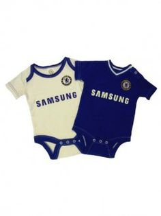 2013/14 Season - Chelsea Baby Kit 2 pack Bodysuits - £10.99. 0-18 months