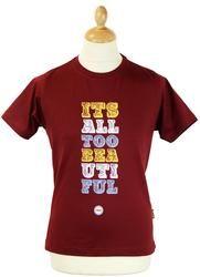 Its All Too Beautiful STOMP Retro Mod T-Shirt (W)