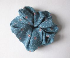 A personal favorite from my Etsy shop https://www.etsy.com/listing/86756660/scrunchie-kimono-fabric-japanese
