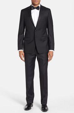 $500 Tuxedo With Tie,  Michael Kors Trim Fit Wool Tuxedo | Nordstrom