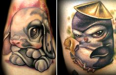 Art-Sci: Cute Cartoon Tattoos