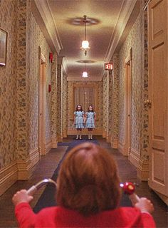 The shining. I attempted to watch this movie alone at night. Needless to say I never finished it...