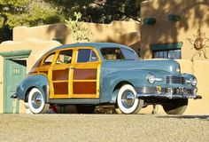 An Attractive 1947 Nash Ambassador Suburban