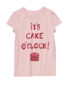 Sparkle Cake Tee from Crazy8 on Catalog Spree, my personal digital mall.