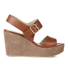 Hobbs Lucia Sandal, Biscuit