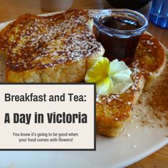 Breakfast and Tea: A Day inVictoria Buy Domain, Canada, Good Things, Tea, Breakfast, Food, Morning Coffee, Essen, Meals
