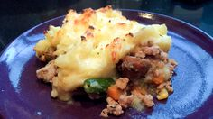 I was kinda stumped about what to make for dinner tonight, but then I got an e-mail from the boy's friend Ben's mom Carla, who sent her recipe for shepherd's pie with chicken, which is based off of...