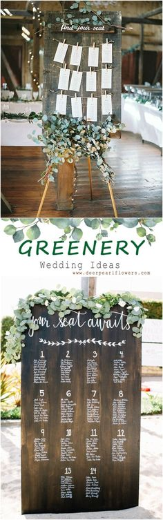 Greenery  wedding sign decor ideas #weddings #greenwedding #weddingdetails #romanticplace #weddingblog #hairstyles #green #weddingideas #weddingflowers #weddinginspiration #dpf #deerpearlflowers /