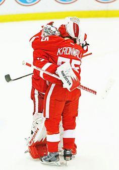 Winning hugs