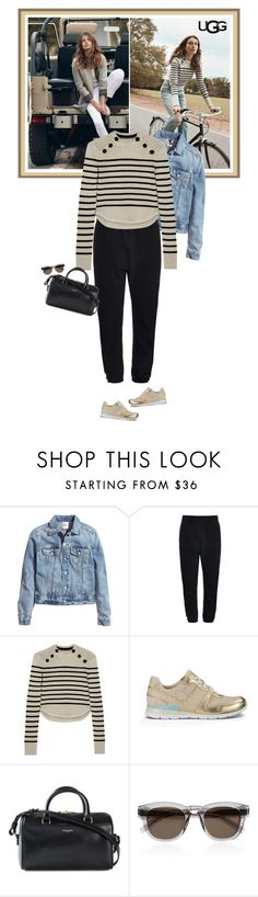 """Play With Prints In UGG: Contest Entry"" by mariotsala22 ❤ liked on Polyvore featuring UGG Australia, H&M, adidas Originals, Isabel Marant and Yves Saint Laurent"