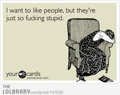 This is how I always feel.