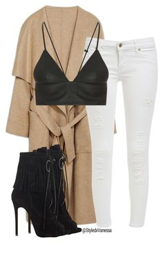 """Untitled #197"" by vanessa-antar ❤ liked on Polyvore featuring Giuseppe Zanotti and T By Alexander Wang"