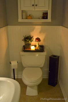 decorate a downstairs toilet - Google Search