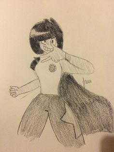 "(Credit to Victoria Rose (Aka Blue) Onyx, the Homeworld General turned Crystal Gem, turned Homeworld General again after they betrayed her... or did they? Her weapon is a greatsword, and she can create synthetic black crystals to use for a multitude of purposes. She may be a ""Homeworld Gem"", but maybe someone can get to her, and change her for the better...   Now a member of the ""Blue Group!"""