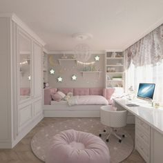Teenage Girls Bedroom Ideas is part of Dream rooms - Every young girl dreams of a uniquely personal space to call her own, yet nailing down a durable search for a teenage girl's bedroom can be a particularly troublesome undertaking Cute Bedroom Ideas, Cute Room Decor, Awesome Bedrooms, Bedroom Themes, Cool Rooms, Trendy Bedroom, Gurls Bedroom Ideas, Modern Bedroom, Girls Bedroom Furniture