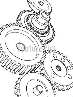 gears, cogs and other nicknacks on Pinterest | Gear Tattoo, Gears ...