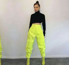 Simple & Trendy Outfits for fashion photography book Neon Outfits, Dance Outfits, Trendy Outfits, Cute Outfits, Sweater Outfits, Grunge Fashion, Look Fashion, 90s Fashion, Fashion Outfits