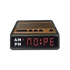 NOPE Alarm Clock Enamel Pin Cute Clock, Bag Pins, Jacket Pins, Tired Eyes, Cool Pins, Pin And Patches, Thing 1, Pin Badges, Lapel Pins