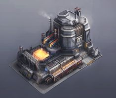 ArtStation - Steelworks Tycoons, Andre Kieschnik