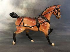 Custom glazed by me to Yorkshire Coach Horse Glazed Ceramic, Yorkshire, Pony, Victorian, Pottery, Australia, Horses, Artist, Animals