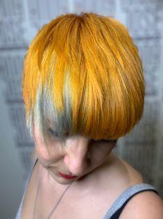 Yellow Orange Hair Color