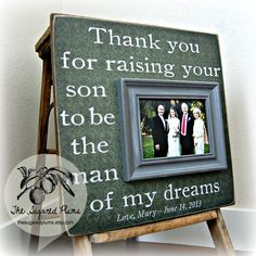 Mother of the Groom Mother In Law Gift Wedding by thesugaredplums, $75.00