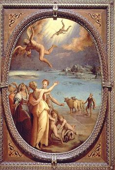Maso da San Friano - The Fall of Icarus  - chapter 36