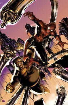 #Spiderman #Fan #Art. (SPIDERMAN 2 jim lee stlye) By: EightONEzERO. (THE * 5 * STAR * AWARD * OF * ÅWESOMENESS!!!™)