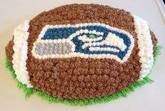 Seahawks cake https://m.facebook.com/erinsbakingarts