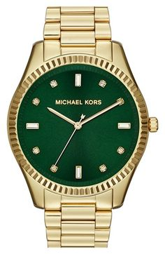 Michael Kors 'Blake' Bracelet Watch, 42mm available at #Nordstrom. In love with this watch!!!