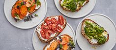 Resto Paris, Bread Bun, Appetisers, Bruschetta, Fresh Rolls, Salmon Burgers, Eggplant, Pesto, Entrees