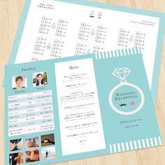 ティファニーブルー♡結婚式席次表オーダーの通販 by いちご's shop|フリル