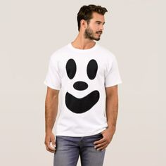 #Funny Ghost Face T-Shirt - Matching Halloween Tees - #Halloween #happyhalloween #festival #party #holiday