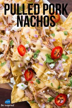 Experience nachos like never before. Perfect for game day grub! Hail @flavcity!