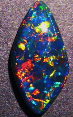 Stunning Australian Super Gem Freeform Opal Triplet - lots to choose from in our store :)
