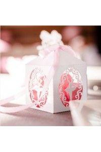 10 Boites à Dragées BALLERINE - Décoration Table Mariage Baptême Anniversaire