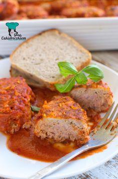 Gołąbki bez zawijania Meatloaf, Food And Drink, Menu, Dinner, Cooking, Party, Diet, Dinner Ideas, Eat Lunch