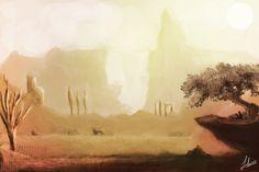 Concept Art - Landscape