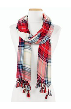 Talbots - Holiday Plaid Scarf | New Arrivals |