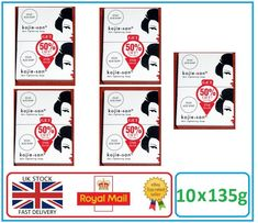 Genuine Kojie San Kojic Acid Skin Lightening Soap - 10 x 135g