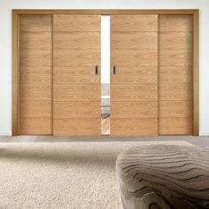 We are pleased to introduce our new range of sliding doors - Easi-Slide Savona Flush Oak sliding doors. #newdoors #slidingdoors