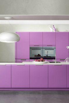 Marvelous Farbgestaltung der K che Bilder und Ideen f r farbige K chen