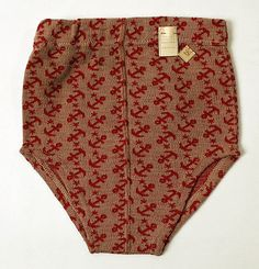 1940s wool swimtrunks