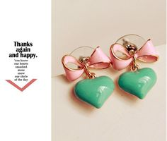 Fashion cute candy color bow love jewelry earrings for women fashion female models heart star earring stud earrings 027-in Stud Earrings from Jewelry & Accessories on Aliexpress.com | Alibaba Group
