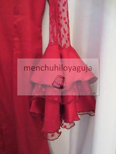 Reciclar, modificar, actualizar un traje de flamenca
